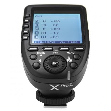 Godox XPRO-C Déclencheur Radio Sans fil TTL (pour Canon)